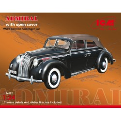 ICM24022 Adm.Cabriolet Open WWII Car 1/24
