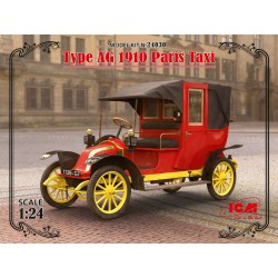 ICM24030 Type AG 1910 Paris Taxi 1/24