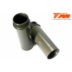 TM560200 Pièce détachée - M8JS/JR - Corps d'amortisseurs traité dur 47mm (2 pces)