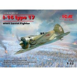 ICM32005 I16 Type 17 WWII Soviet Fighter1/32