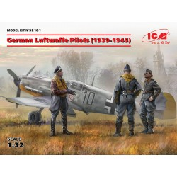 ICM32101 German Luftwaffe Pilots '39-45 1/32