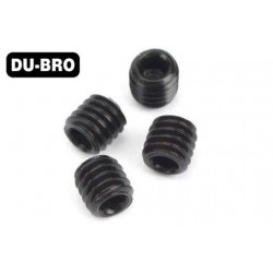 DUB2168 Grub Screws - 3mm x 3 Socket Set Screws (4 pcs per package)