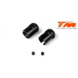 TM560244 Pièce détachée - M8JS/JR/B8ER - Noix de cardans central acier (2 pces)
