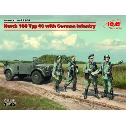 ICM35504 Horch 108 Typ 40 with German 1/35