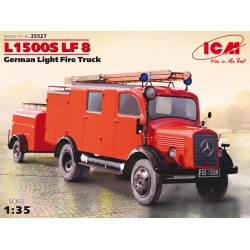 ICM35527 L1500S LF8 Germ.Light Fire Tr. 1/35