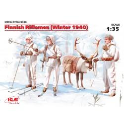 ICM35566 Finnish Rifflemen Winter 1940 1/35