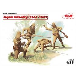 ICM35568 Japan Infantry (1942-1945)(4) 1/35