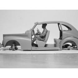 A4PMATR A4 PVC mat Ribbel 320 x 197 x 1.30mm 61001