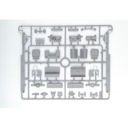 A3PBL A3 PVC transp. bleu 475 x 328 x 0.23mm 65406