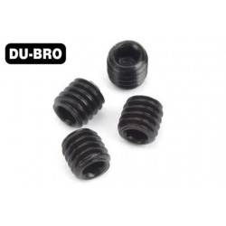 DUB2169 Grub Screws - 3mm x 5 Socket Set Screws (4 pcs per package)