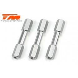 TM561344 Pièce détachée - B8RS/B8ER - Aluminium 7075 - Support de platine radio Support (3 pces)