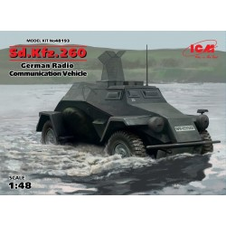 ICM48193 Sd.Kfz.260. German Radio Com. 1/48