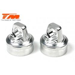 TM561357 Pièce détachée - B8RS - Aluminium 7075 - Bouchon d'amortisseur (2 pces)