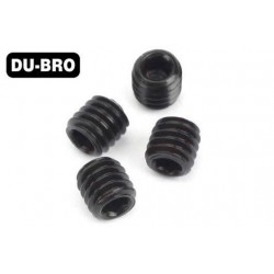DUB2170 Grub Screws - 4mm x 4 Socket Set Screws (4 pcs per package)