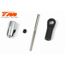 TM561382 Option Part - B8 - Aluminium Adjustable Brake Nut Set