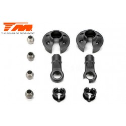 TM561407 Spare Part - B8 Naga - Shock Ball End, Spring Cap & Hardware Set (2)