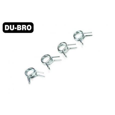 DUB677 Aircrafts Parts & Accessories - Fuel Line Clips, Medium (4 pcs per package)