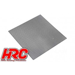 HRC25401B Pièces de carrosserie - Accessoires 1/10 - Scale - Acier Inox - Grille de prise d'air modifiée