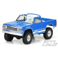"PL3525-00 Carrosserie - 1/10 Crawler - Transparente - 1977 Dodge Ramcharger - pour 12.3"" Wheelbase Crawler"