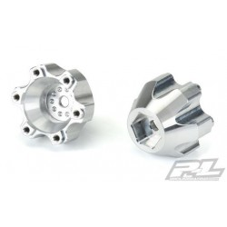"PL6346-00 Option Part - Aluminum Hex Adapters - 6x30 to 14mm for Pro-Line 6x30 2.8"" Wheels"