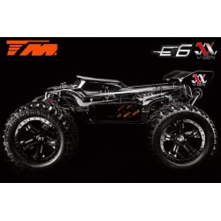 TM505009 Auto - Monster Truck Electrique - 4WD - ARR (no electronics) - Team Magic E6 III V-GEN