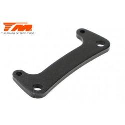 TM505146BK Pièce détachée - E6 III - Aluminium anodisé noir - Platine de direction