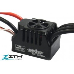ZTW4112021Variateur �lectronique - Brushless - 1/10 - 2~4S - Beast SL - 120A / 760A