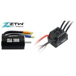 ZTW411202125Variateur �lectronique COMBO - Brushless - 1/10 - 2~4S - Beast SL SCT - 120A / 760A - avec moteur 4200KV