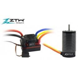 ZTW421503002Variateur �lectronique COMBO - Brushless - 1/8 - 2~6S - Beast SL - 150A / 1080A - avec moteur 2150KV