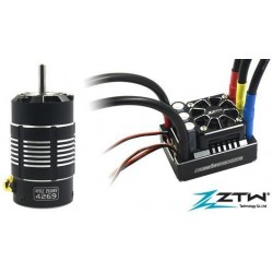 ZTW8222032002Variateur �lectronique COMBO - Brushless - 1/8 - 2~6S - Beast PRO - 220A / 1320A - avec moteur 2150KV