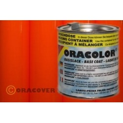 OR-121-064 Oracover - Oracolor - Fluorescent Red/Orange ( Content : 100ml )