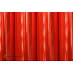 OR-21-026-010 Oracover - Transparent Flurescent Red ( Length : Roll 10m , Width : 60cm )