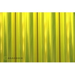 OR-21-035-010 Oracover - Transparent Fluorescent Yellow ( Length : Roll 10m , Width : 60cm )