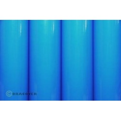 OR-21-051-010 Oracover - Blue Fluorescent ( Length : Roll 10m , Width : 60cm )