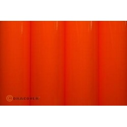 OR-21-064-010 Oracover - Fluorescent Red/Orange ( Length : Roll 10m , Width : 60cm )