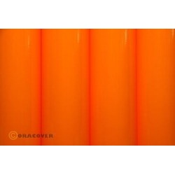 OR-25-065-010 Oracover - Orastick - Fluorescent Signal Orange ( Length : Roll 10m , Width : 60cm )