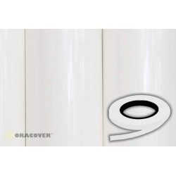OR-26-010-xxx Oracover - Oraline - White ( Length : Roll 15m , Width : 1mm )
