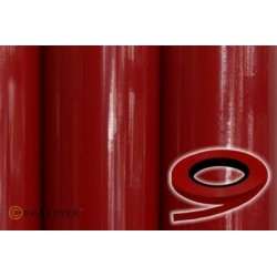 OR-26-020-xxx Oracover - Oraline - Red ( Length : Roll 15m , Width : 1mm )