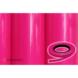 OR-26-025-xxx Oracover - Oraline - Fluorescent Pink ( Length : Roll 15m , Width : 1mm )