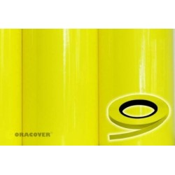 OR-26-031-xxx Oracover - Oraline - Fluorescent Yellow ( Length : Roll 15m , Width : 1mm )