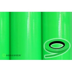 OR-26-041-xxx Oracover - Oraline - Fluorescent Green ( Length : Roll 15m , Width : 1mm )