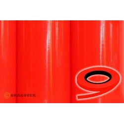 OR-26-064-xxx Oracover - Oraline - Fluorescent Red/Orange ( Length : Roll 15m , Width : 1mm )