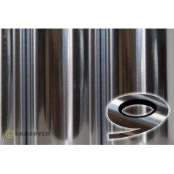 OR-26-090-xxx Oracover - Oraline - Chrome ( Length : Roll 15m , Width : 1mm )