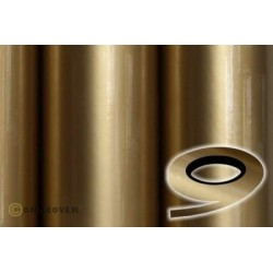 OR-26-092-xxx Oracover - Oraline - Gold ( Length : Roll 15m , Width : 1mm )