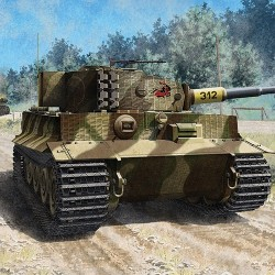 "AC13314 ACADEMY - TIGER I""Late Version""1/35"