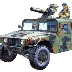 AC13250 M-966 HUMMER WITH TOW 1/35