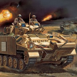 "AC13201 ACADEMY - Warrior MCV ""Iraq 03""1/35"