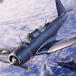 AC12324 SB2U-3 Vindicator Battle Midway1/48