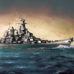 AC14222 USS Missouri BB-63 MCP 1/700
