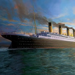 "AC14215 TITANIC The White Star Liner"" 1/400"